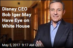 Add Disney CEO Iger's Name to List of 2020 Maybes