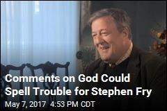 Stephen Fry Investigated for Calling God an 'Utter Maniac'