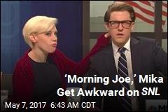 'Morning Joe,' Mika Get Awkward on SNL