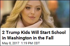 Tiffany Trump Going to School 1.5 Miles From White House