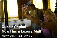1st Luxury Mall Opens in Cuba