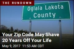 Your Zip Code May Shave 20 Years Off Your Life