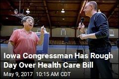 Iowa Congressman Has Rough Day Over Health Care Bill