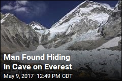 Man Found Hiding in Cave on Everest