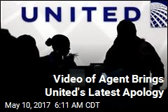 Video of Agent Brings United's Latest Apology
