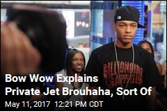 Bow Wow Explains Private Jet Brouhaha, Sort Of