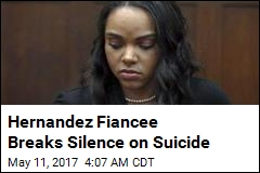 Hernandez Fiancee Thought Suicide Call Was a 'Hoax'