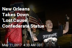 New Orleans Takes Down Confederate Statue