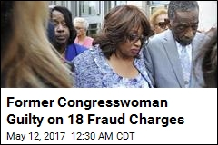 Former Congresswoman Guilty on 18 Fraud Charges