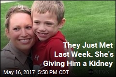 Cop Donating Kidney to 8-Year-Old Stranger