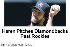 Haren Pitches Diamondbacks Past Rockies