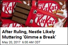 Judges Burn KitKat: Shape Has 'No Inherent Distinctiveness'