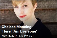 Chelsea Manning Shares 1st Photo Since Prison