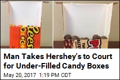 Man Takes Hershey's to Court for Under-Filled Candy Boxes