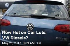 Now Hot on Car Lots: VW Diesels?