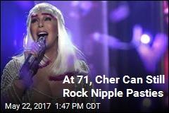 Cher Can Still Rock Nipple Pasties