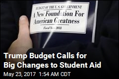 Trump Budget Seeks End to Subsidized Student Loans