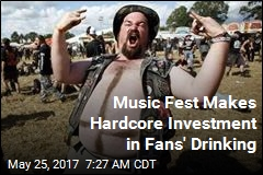 New at Heavy-Metal Music Fest: a Beer Pipeline