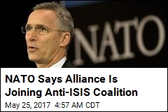 NATO Says Alliance Is Joining Anti-ISIS Coalition