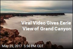 Clouds Take Over Grand Canyon in Viral Video