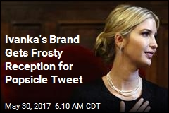 Ivanka Trump Rapped for Champagne Popsicle Tweet