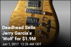 Jerry Garcia's Famous Guitar Sold for $1.9M
