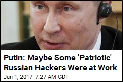 Putin: Hackers Can't Possibly Influence a US Election
