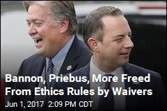 White House Issues 14 Ethics Waivers in 4 Months