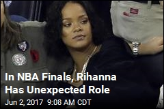 In NBA Finals, Rihanna Has Unexpected Role