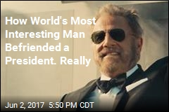 Obama Was Shockingly Big Fan of World's Most Interesting Man