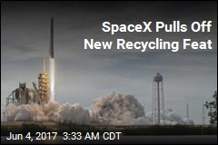 SpaceX Notches Another First