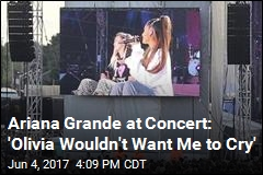Ariana Grande Talks of Young Victim in Concert Tribute