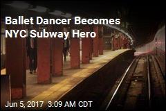 Ballet Dancer Saves Man From Subway Track