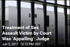 Sex Assault Victim Jailed, Put in Van With Her Attacker