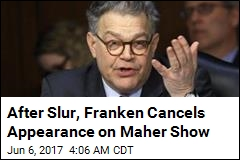 After Slur, Franken Cancels Appearance on Maher Show