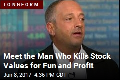 Meet the Man Who Kills Stock Values for Fun and Profit
