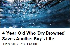 4-Year-Old Who 'Dry Drowned' Saves Another Boy's Life