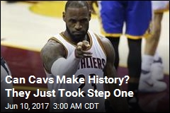 Historic Comeback Brewing? Cavs Stay Alive
