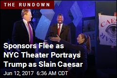 Caesar Seems to Show Killing of Trump, and Outrage Follows