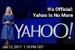 It's Official: Yahoo Is No More