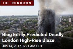 Deaths Confirmed in London High-Rise Blaze