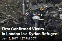 He Escaped Syria, Only to Die in London Fire