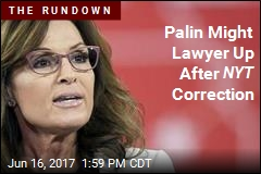 Sarah Palin 'Talking to Attorneys' After NYT Correction