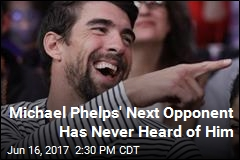 Michael Phelps Will Race Great White Shark