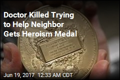Doctor Killed Trying to Help Neighbor Gets Carnegie Medal