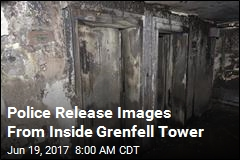 Police Release Images From Inside Grenfell Tower