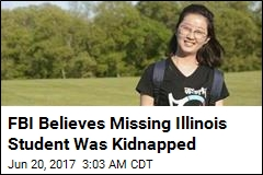 FBI Believes Missing Illinois Student Was Kidnapped