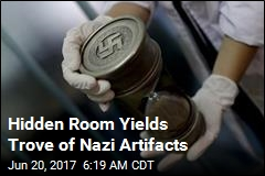 Hidden Room Yields Trove of Nazi Artifacts