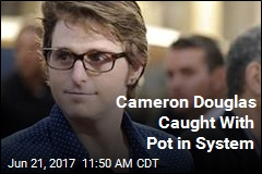 Cameron Douglas Caught With Pot in System