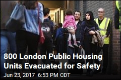 Hundreds Evacuated Due to Risk After Grenfell Tower Fire